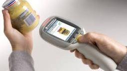 Digital marketing scanmachine Auchan