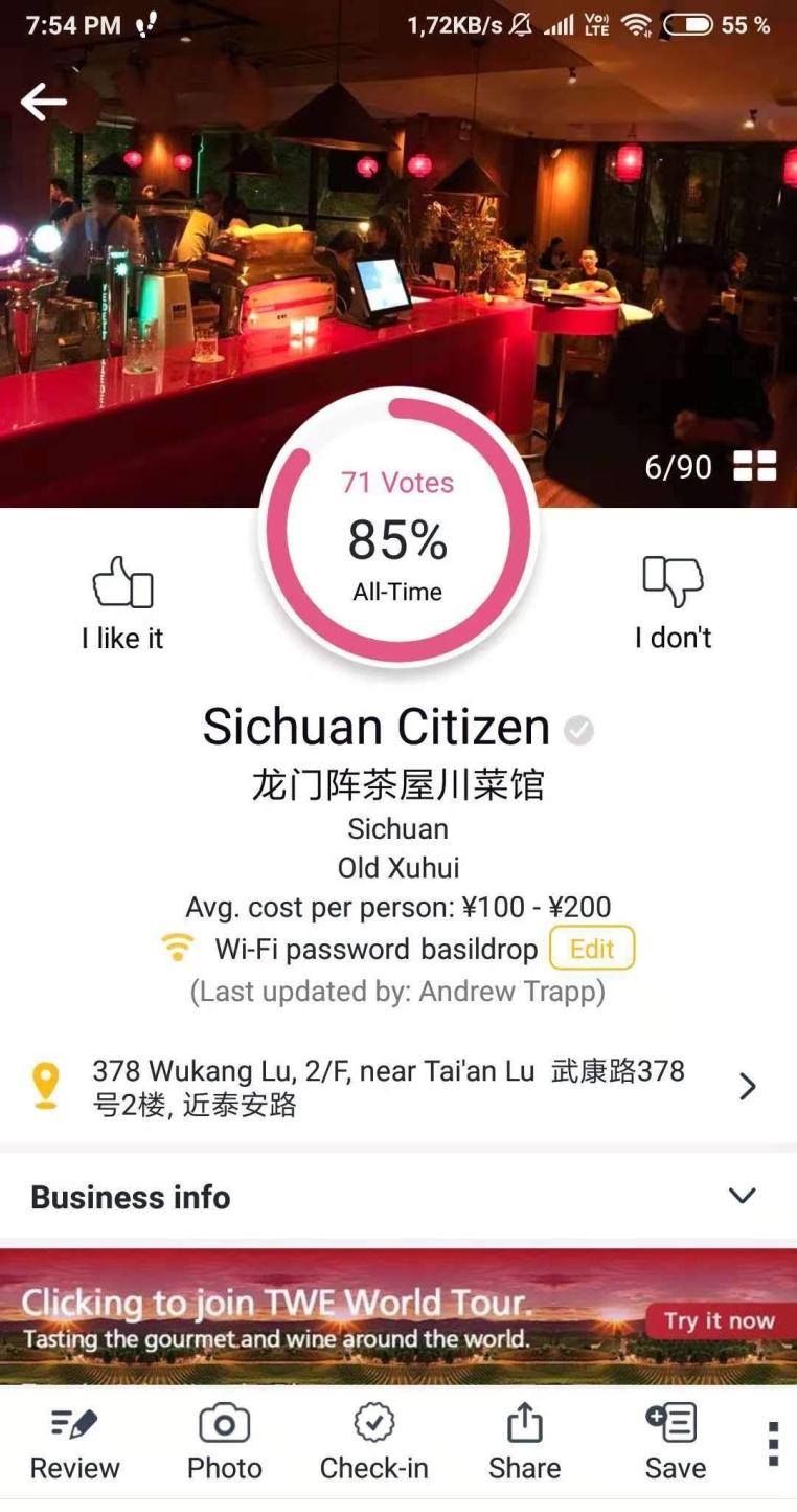 Bon App info