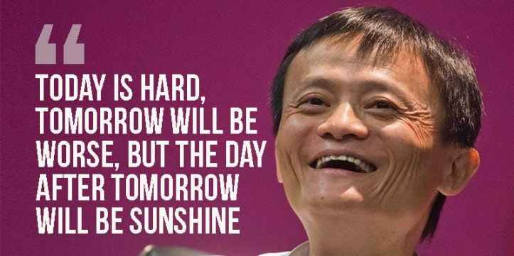 Jack Ma's quotes about his thought