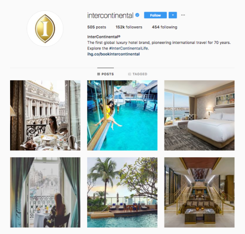 intercontinental-instagram-account