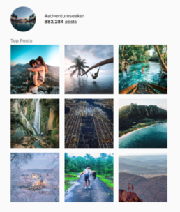 The+Top+Instagram+Travel+Hashtags+of+2019-+#adventureseekers+top+posts+on+social+media.+Learn+how+to+use+hashtags+to+grow+your+following.
